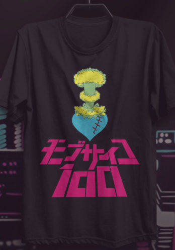 CAMISETA MOB PSYCHO 100 – HEART