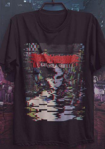 CAMISETA GHOST IN THE SHELL