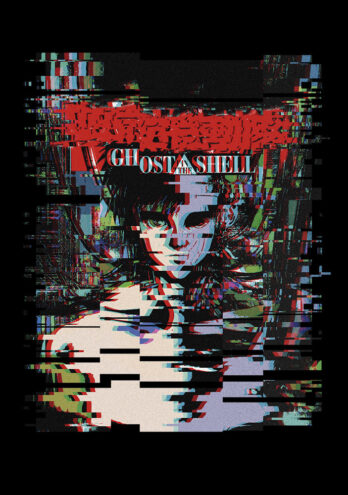 Camiseta Ghost In The Shell – Glitch