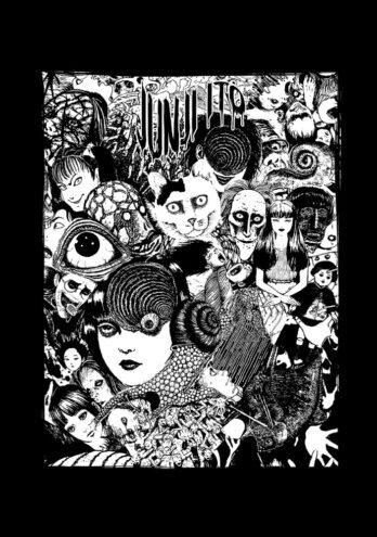 Camiseta Junji Ito – Mestre do Horror