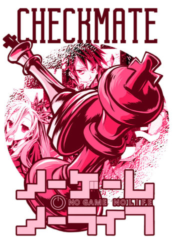 Camiseta No Game No Life – Checkmate