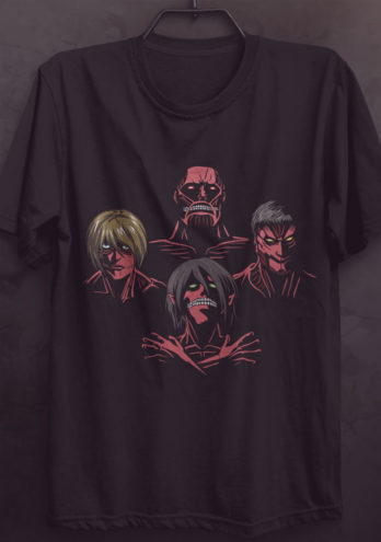 Camiseta Shingeki no Kyojin – Attack On Titan