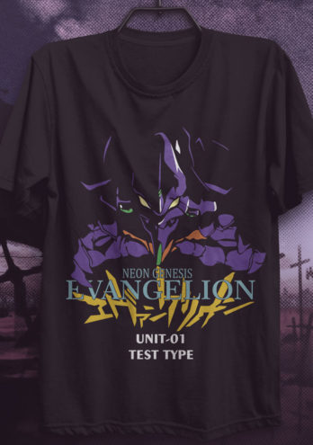 Camiseta Evangelion – Unit-01 Test Type