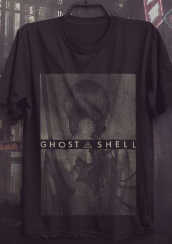 CAMISETA GHOST IN THE SHELL PROJECT