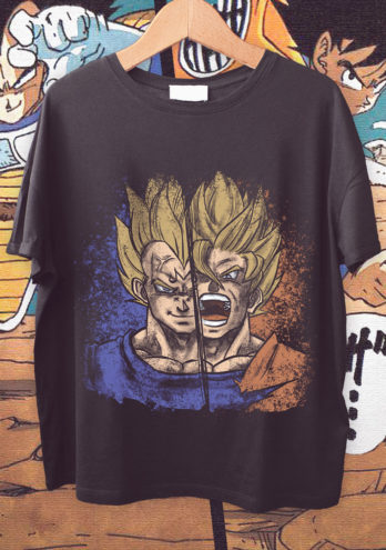 CAMISETA VEGETA VS GOKU