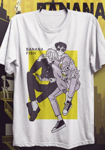 CAMISETA BANANA FISH