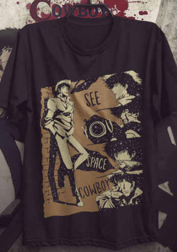 Camiseta Cowboy Bebop – See You Space Cowboy