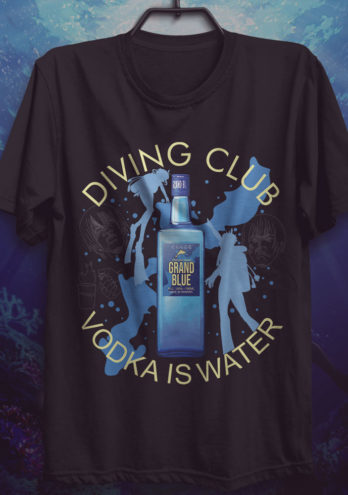 Camiseta Grand Blue – O Grande Mar de Vodka