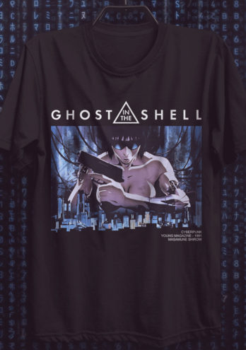 Camiseta Ghost In The Shell – Motoko