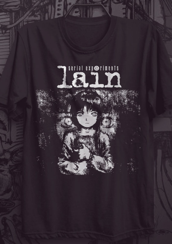 Camiseta Serial Experiments Lain – Conspiracy