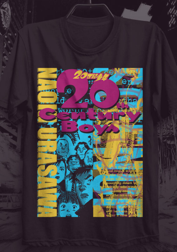 Camiseta 20th Century Boys