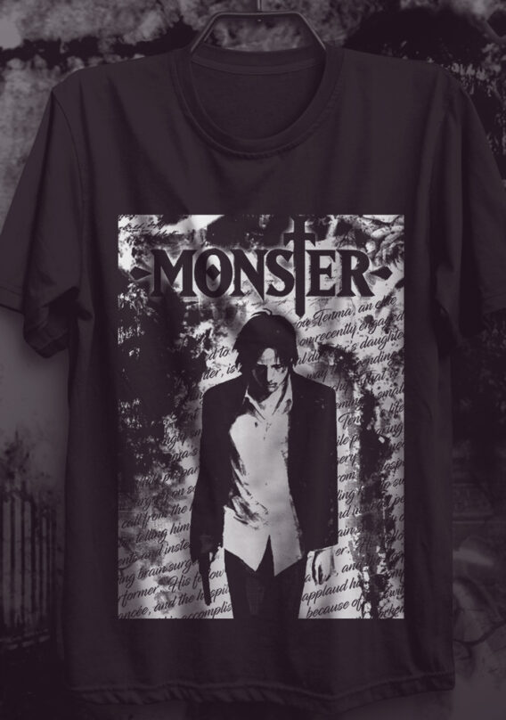 Camiseta Monster – Anime/Mangá