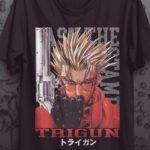 Camiseta Trigun – Vash The Stampede